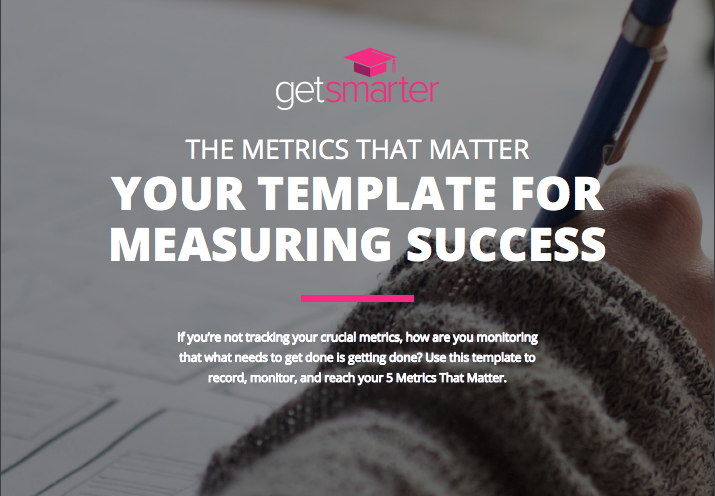 Download your template for measuring success