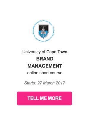 CSR course brand management
