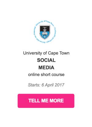 CSR course social media