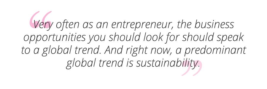 CSR quote sustainability