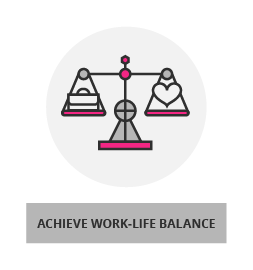 work-life balance button