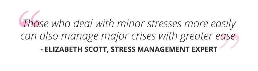 emotional resilience minor stresses