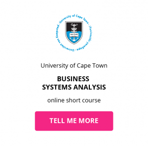 uct business systems analysis online short course getsmarter chief technology officer