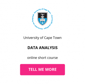 uct data analysis online short course getsmarter chief technology officer