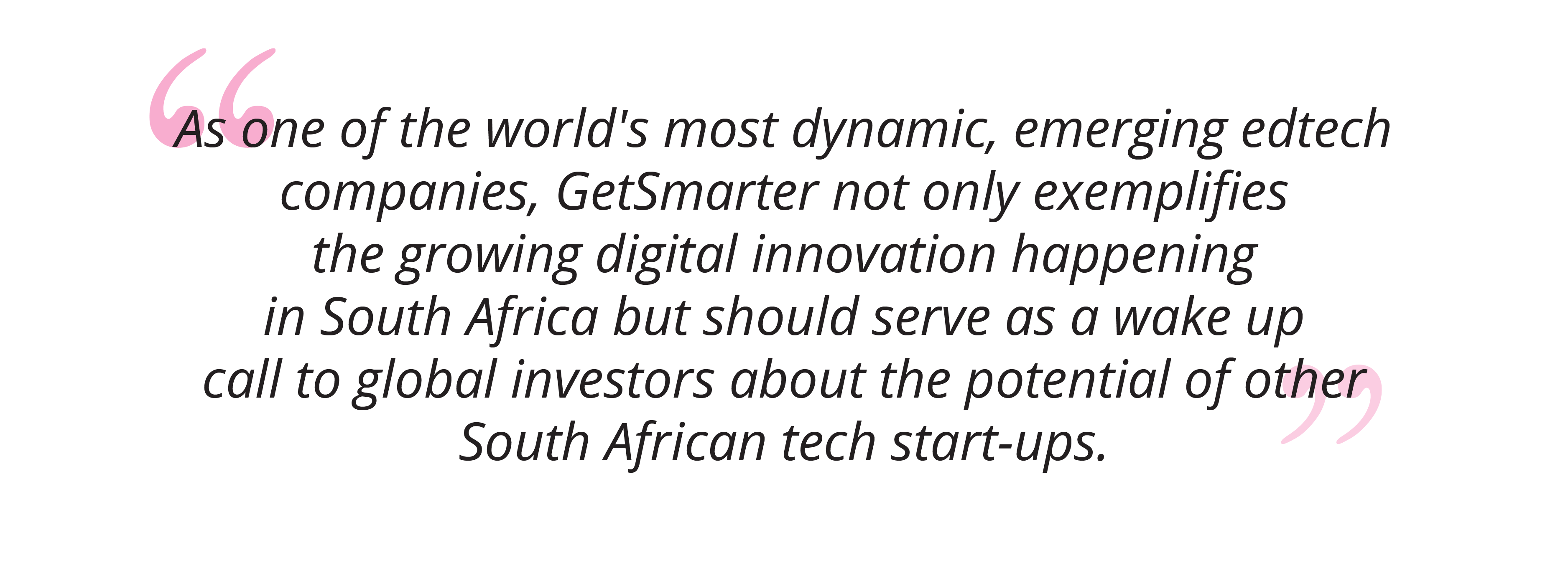 How GetSmarter Is Paving The Way For A Silicon Cape