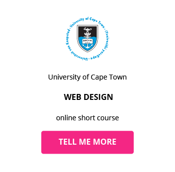Web Design Uct Online Short Course South Africa Getsmarter