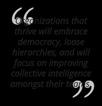 mit ai collective intelligence organization quote mobile