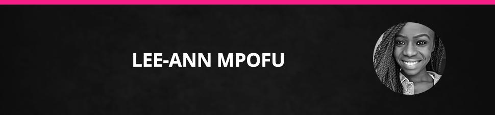 Lee-Ann Mpofu Sports Journalist