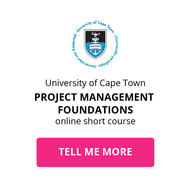 Project Management Foundations | UCT Online Short Course