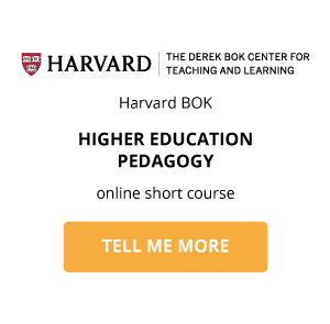 Teaching and Learning Strategies for Higher Education