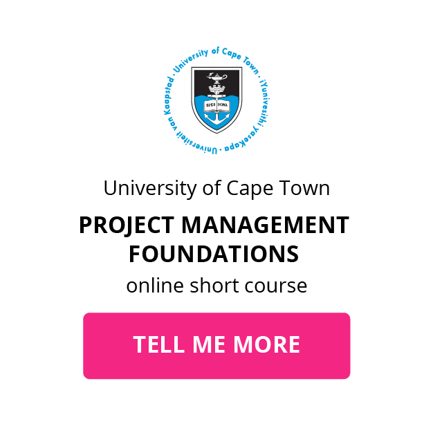UCT project management foundations GetSmarter