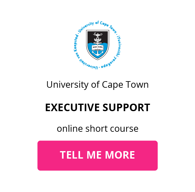 UCT Executive Support GetSmarter