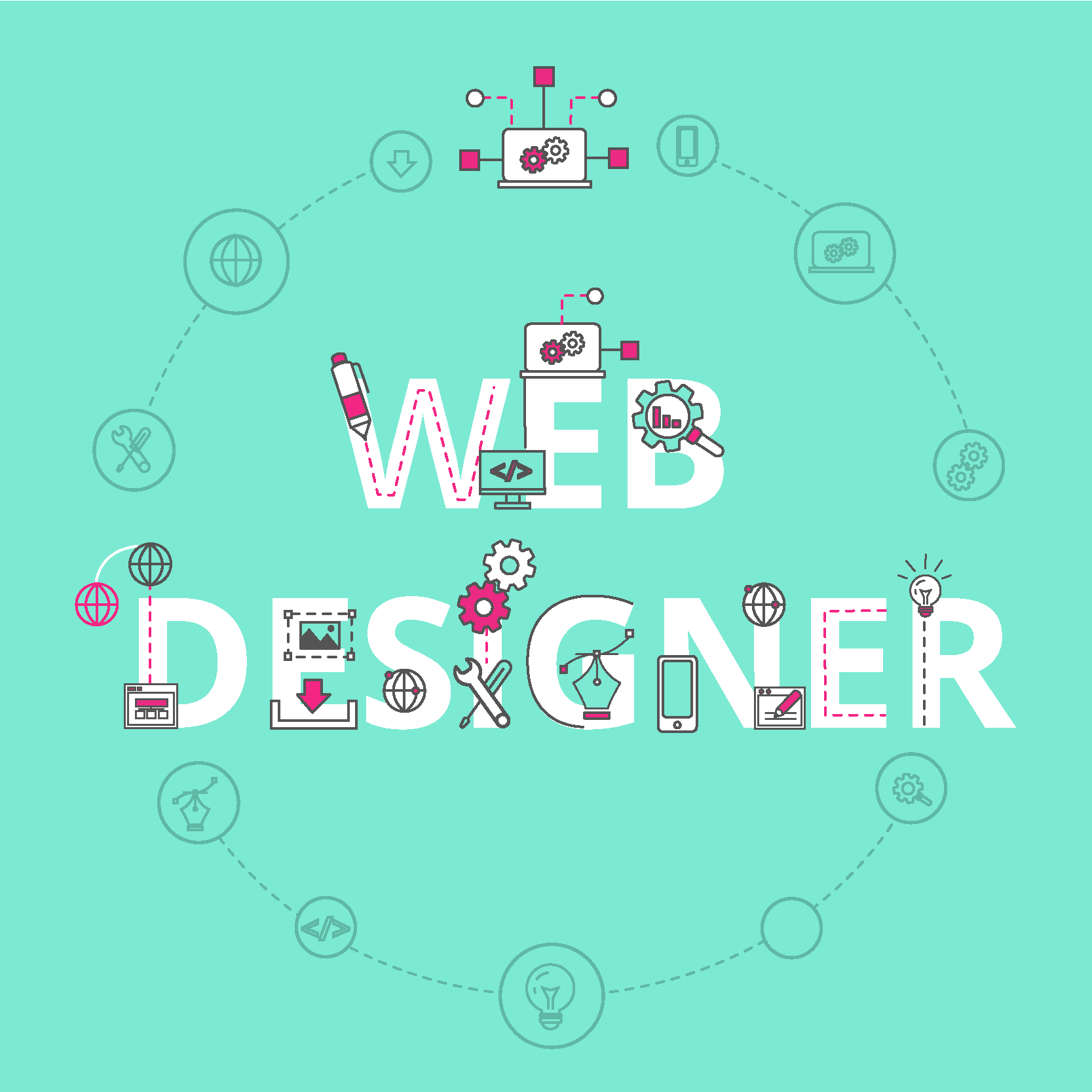 web designer career path profile banner