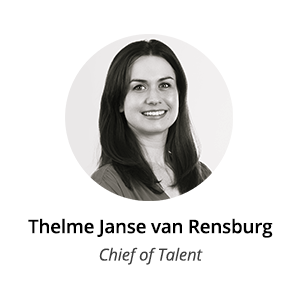 Is Your Career Path Leading You To The C-Suite thelme van rensburg chief of talent