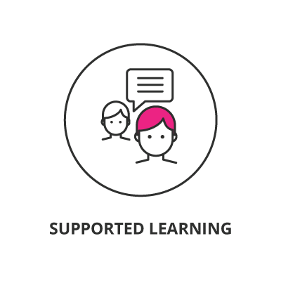 getsmarter learning model supported learning