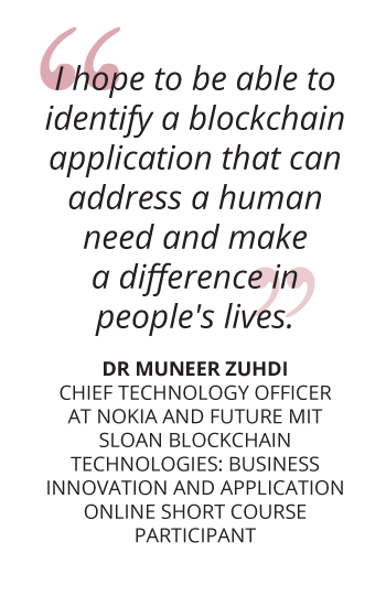Here's what you can look forward to on the MIT Sloan Blockchain Program pullquote mobile getsmarter