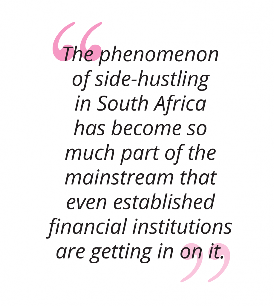 Rise of the side hustle in South Africa