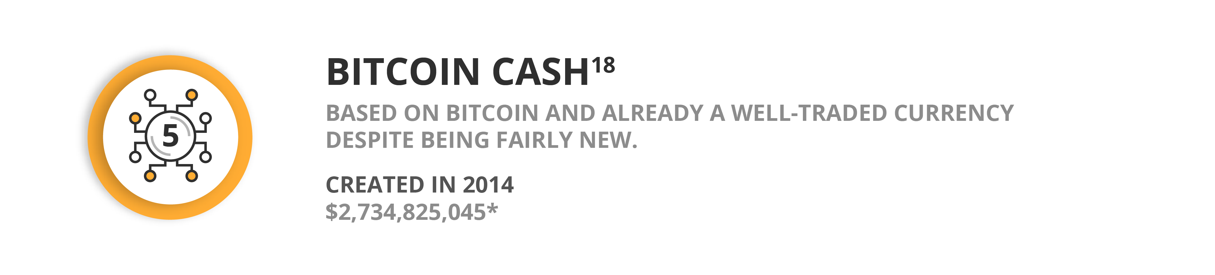 Bitcoin Cash - A well-traded cryptocurrency despite being fairly new